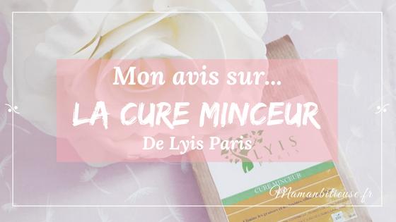 Ma cure minceur Lyis Paris – Mon avis