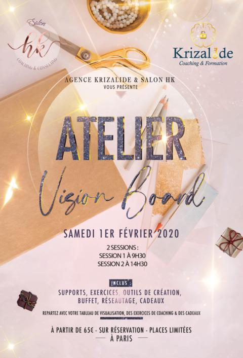 Flyer Vision Gold Recto